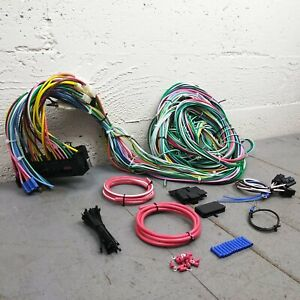 80-86 Ford Truck/ Bronco Complete 24 Circuit Wire Harness Under Dash Upgrade Kit