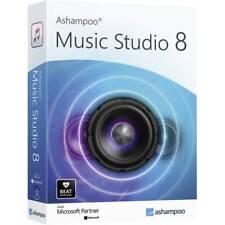 Ashampoo Music Studio 8 Vollversion, 1 Lizenz Windows Musik-Software