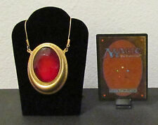 MTG Magic the Gathering - MOX RUBY Pendant / Necklace - Custom Very Nice