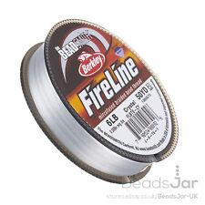 Crystal Fireline Braided Beading Thread 6LB 50 yd 0.006 Inch (D40/2)