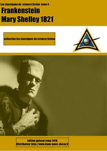 Livre mary shelley Frankenstein roman science fiction e-book