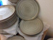 Set 12 Stück  Essteller Menüteller ca. 27cm Bunt Porzellan Neu Stone Optik