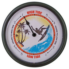 TIDE CLOCK Surfer #240B Tells high and low tide