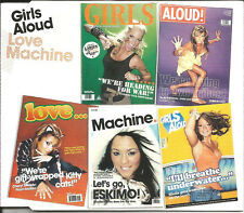 GIRLS ALOUD Love Machine MIX & UNRELEASED & VIDEO & GAME & Karaoke CD single