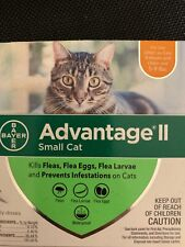 advantage ii for small cats (2 Treatments)