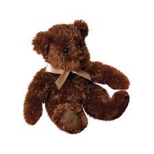 Plush CHOCOLATE FUZZY BEAR Teddy Stuffed Animal - Douglas Cuddle Toys - #12704