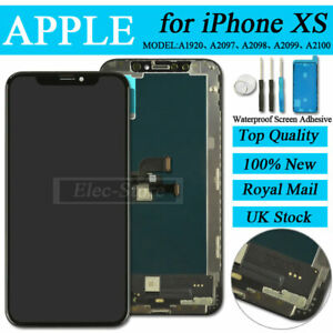 For iPhone XS LCD Touch Digitizer Display Screen Assembly Replacement Black UK