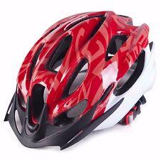 rouge neuve vélo cyclisme Sports sécurité bicyclette 15 trous homme adulte