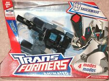 Transformers Animated Voyager Class Shockwave / Longarm Prime MISB