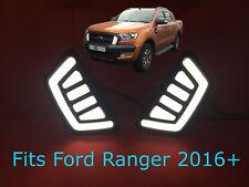 Ford Ranger T6 Raptor 2016+ Front LED DRL's - (Daytime Running Lights)