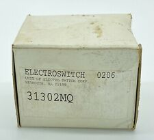 Electroswitch Rotary Switch 8 Position 31302mq 2 Stack Free Shipping