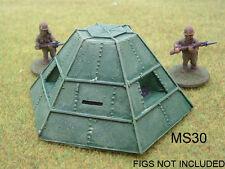 II Guerra Mundial de Japón PREFAB ACERO Casquete Kit Modelo Resina - 20mm-ms30