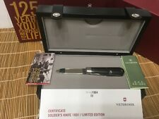 Victorinox 125 Years Soldiers knife 1891/ Limted Edition