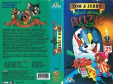 TOM & JERRY: THE NIGHT BEFORE CHRISTMAS (1941) ANIMATION SERIES - CROATIAN VHS
