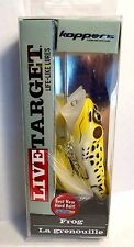 Koppers Live Target Yellow/ Black Surface Frog