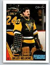(HCW) 1987-88 O-Pee-Chee #107 Gilles Meloche Penguins