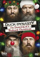 DUCK DYNASTY I'M DREAMING OF A REDNECK CHRISTMAS. New sealed DVD.