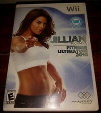 Jillian Michaels Fitness Ultimatum 2010 for Wii *COMPLETE* SHIPS FAST Mon-Sat!