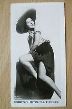 Real Photo Carreras Cigarette Cards, No.30- DOROTHY MITCHELL HEDGES