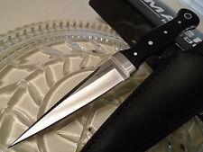 Boker Magnum Sghian Dubh Dagger Knife 5mm Full Tang Micarta Leather 02SC359 New