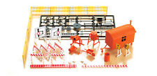 AUHAGEN HO scale ~ CONSTRUCTION SITE ~ plastic model KITSET #12267