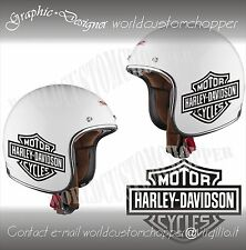 ADESIVO DECAL STICKERS REPLICA HARLEY DAVIDSON LODY SHIELD CASCO MOTO CUSTOM