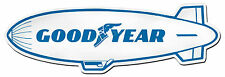 "GOODYEAR TIRES AIR SHIP DIGITALLY CUT OUT VINYL STICKER. 6"" X 2"" OVERALL SIZE."