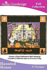 Anita Goodesign Haunted House Embroidery Machine Design CD NEW 66AGHD