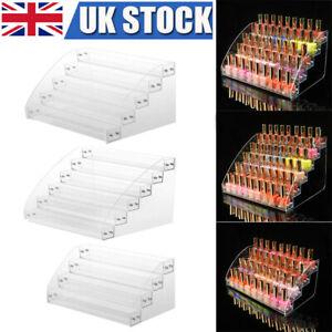 Acrylic Nail Polish Varnish Organiser Holder Display Stand Rack Desk Top Storage