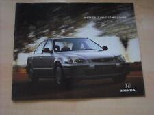 24829) Honda Civic Übergröße Prospekt 1996