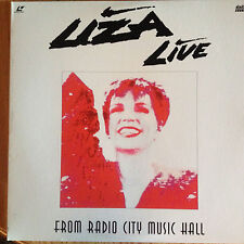 Liza Live - From Radio City Music Hall Laserdisc Classic
