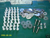 Stainless Steel Beetle Wing Fitting Bolts Kit