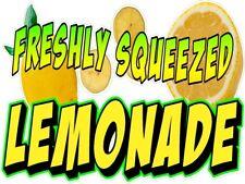 Fresh Squeezed Lemonade Lemon Ade Vinyl Decal Choose A Sizeboardwalk Shops