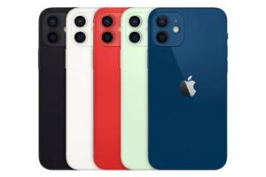 Apple iPhone 12 64/128/256GB Black White Red Green Blue GSM Unlocked