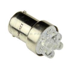 2 X 207 LED Blanco 12 V R5W luz de techo interior de cola de lado bayoneta bombillas de coche BA15S