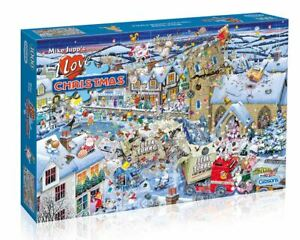 Gibsons Jigsaw Puzzle I Love Christmas 1000 pieces Mike Jupp  Jigsaw Puzzle