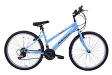 "Professional Everest Womens 26"" Wheel Mountain Bike 21 Speed 17"" Frame Baby Blue"