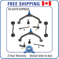 10 Pieces Front Suspension & Steering Kit for Jeep Liberty 2002 2003 2004