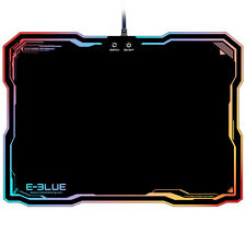 LED Lighting Hard Gaming Mouse Pad USB Wired RGB PC Computer Notebook Mice Mat