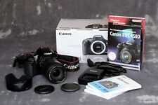Canon eos 450D - 12.2 MP Spiegelreflexkamera mit 18-135 mm Canon Objektiv