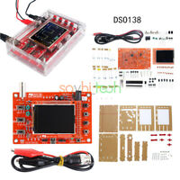 "2.4"" LCD Display DSO138 TFT Oscilloscope Soldered Welded +Acrylic Case DIY Kit"