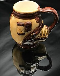 NOVILTY GOLF BAG SHAPED CERAMIC MUG MINT Different Unique