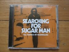 RODRIGUEZ - SEARCHING FOR SUGAR MAN - NEW Film Soundtrack CD - 2012 - OST