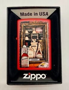 Collectable ZIPPO Fuel Cans Lighter New! Sale!!!