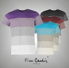 Polyester Crew Neck Striped Big & Tall T-Shirts for Men
