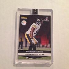 #817 Lawrence Timmons Florida St Steelers 2016 2017 Panini Instant Black 1/1 mde