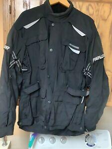 FieldSheer motorcycle jacket Scotchlite 3m armored & padded 2XL XXL