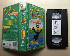 SING ALONG WITH DAFFY DUCK - VHS VIDEO