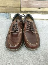 Northwest Territory Mens Brown Leather Lace Up Shoes Size UK 8