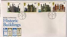 ROYAL MAIL FDC – British Architecture - HISTORIC BUILDINGS – 1st March 1978.